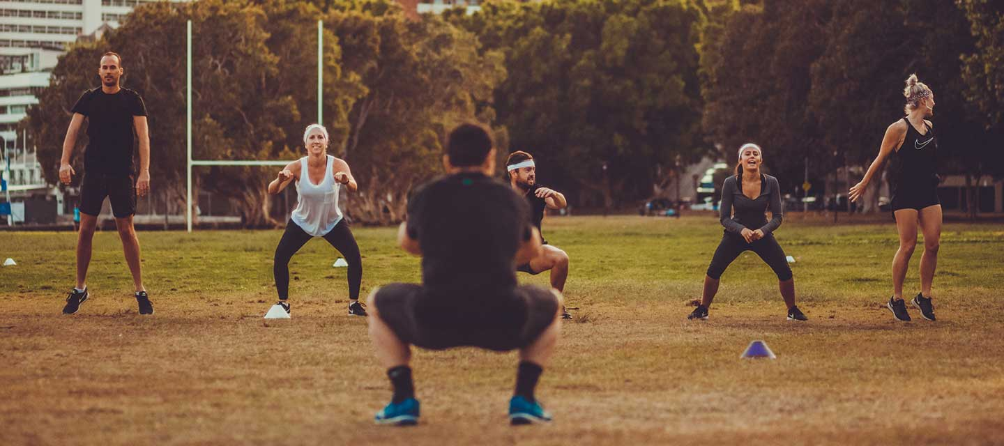 Outdoor Group Training Rushcutters Bay Near Edgecliff