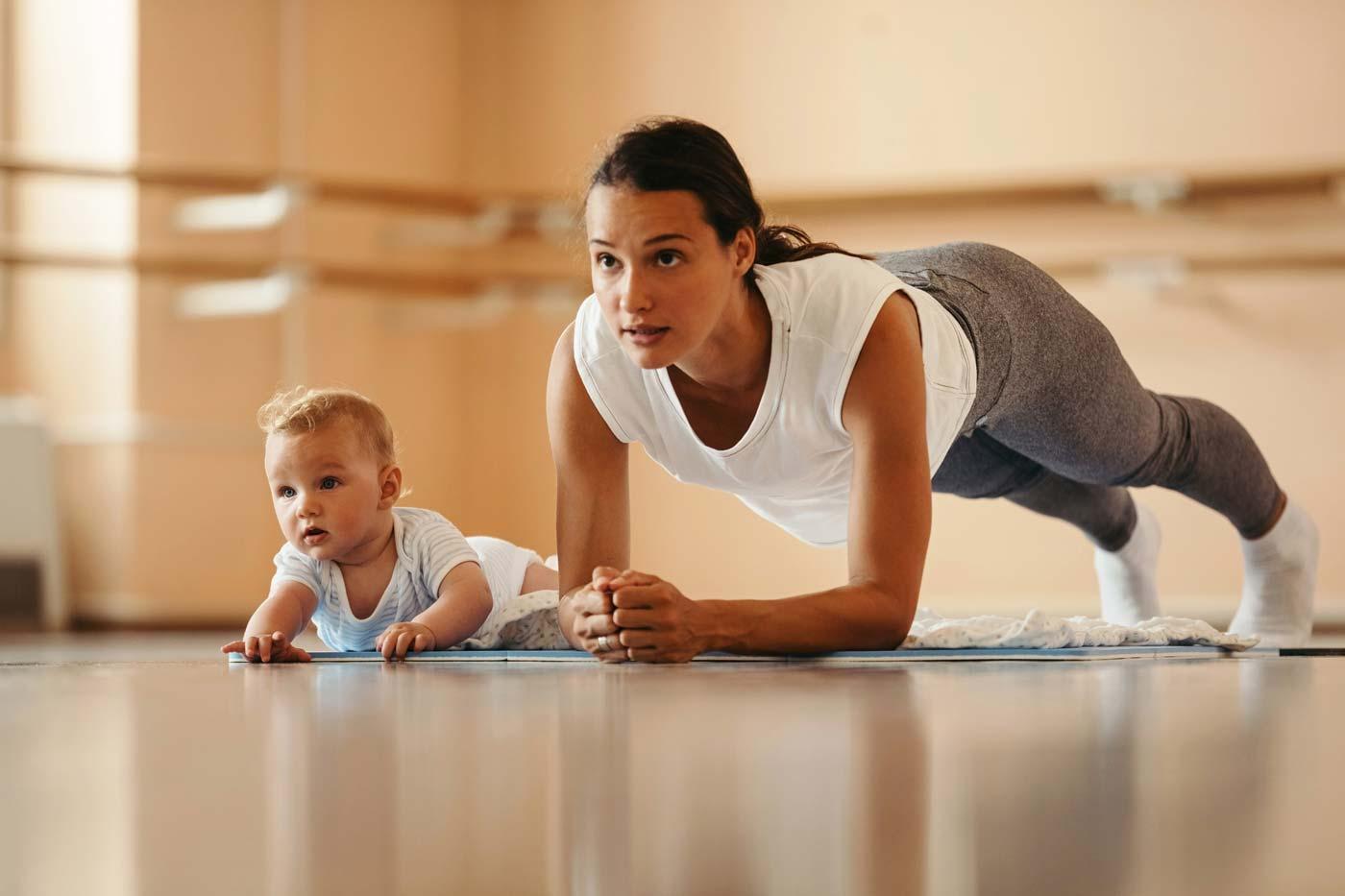 New Mum Workout